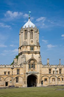 Free Christ Church S Tom Tower, Oxford University Stock Image - 14610321