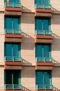 Free Windows And Balcony Of Hotel Stock Photo - 14623450