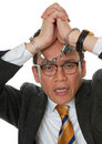 Free Businessman With Handcuffs Royalty Free Stock Photo - 14627485