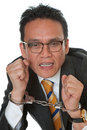 Free Businessman With Handcuffs Royalty Free Stock Photography - 14627487