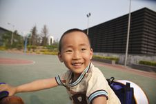 Free Asian Boy On Bike Stock Image - 14623581