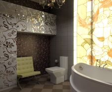 Free Bathroom Royalty Free Stock Images - 14624529