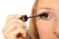 Free Eyelashes Makeup Royalty Free Stock Photos - 14624748