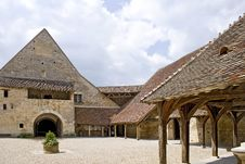 Free Courtyard In Medieval Castle Stock Photo - 14625160