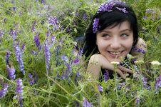Free Beautiful Brunette Girl Stock Photography - 14625202