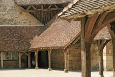 Free Courtyard In Medieval Castle Stock Photography - 14625402