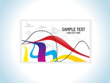 Free Abstract Colorful Business Card Stock Photography - 14625712