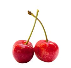 Free Red Sweet Cherries Royalty Free Stock Photos - 14626008