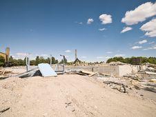 Demolished Neighbourhood Royalty Free Stock Image
