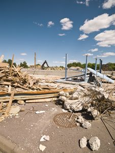 Free Demolished Neighbourhood Stock Image - 14626121