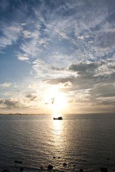 Free Sunrise On Sea Stock Photo - 14626660