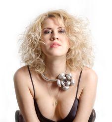 Free Portrait Of A Beauty Blonde Woman Stock Image - 14626691