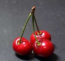 Free Red Cherry Royalty Free Stock Photo - 14627655