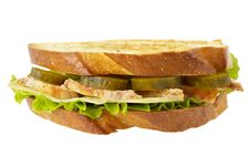Free Chicken Sandwich Stock Image - 14627901