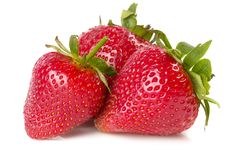 Free Three Strawberries Stock Photo - 14627950
