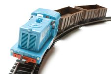 Free Toy Train | Isolated Royalty Free Stock Images - 14628159
