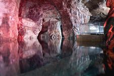 Free Flooded Miltitz Chalk Mine Royalty Free Stock Image - 14628206