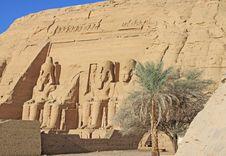 Free Temple Of Abu Simbel Royalty Free Stock Image - 14628536