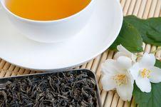 Springtime Tea Royalty Free Stock Photo