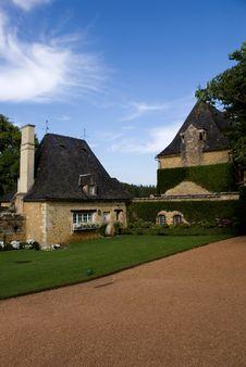 Jardin Du Eyrignac Royalty Free Stock Photo