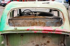 Free Old Rusty Car Stock Photography - 14629132