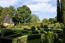 Free Eyrignac French Gardens Stock Image - 14629211