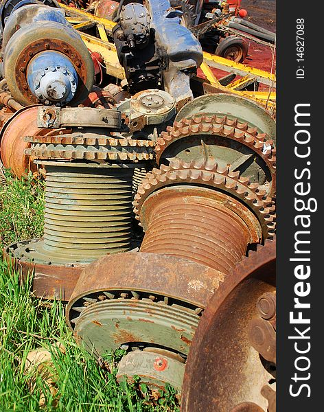 Rusty gears