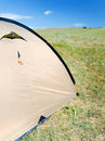 Free Tent On The Grass Stock Images - 14632604