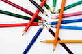 Free Pencil And Pastel Stock Photo - 14636180