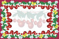 Free Frame With Cherry Royalty Free Stock Image - 14636426