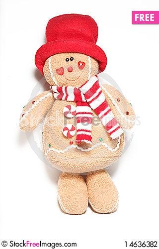 Free Christmas Doll Stock Photography - 14636382