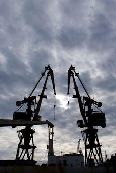Free Cranes Stock Photo - 14630170