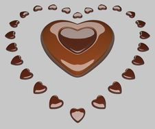 Free Heart With Hearts Stock Images - 14630304