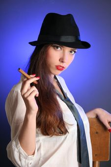 Free Smoking Royalty Free Stock Photography - 14630917