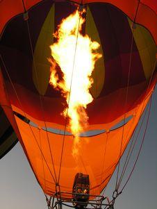 Balloon - Fire Stock Photo