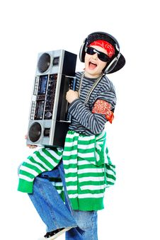 Free Teen Music Lover Stock Photography - 14631842