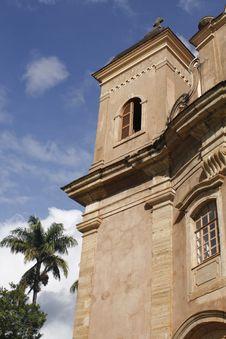 Free Church In Mariana, Brazil Royalty Free Stock Photo - 14632375