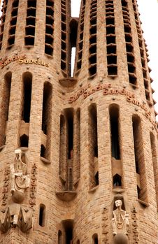 Free Sagrada Familia Detail Royalty Free Stock Photography - 14632507