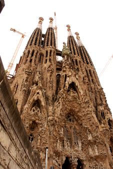 Free Sagrada Familia Stock Photos - 14632523
