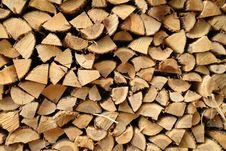 Free Wood Pile Royalty Free Stock Photo - 14632705