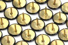Free Drawing Pins Royalty Free Stock Image - 14633506