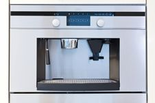 Free Detail Of A Built In Coffee Machine Stock Photo - 14633950