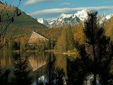 Free Lake Strbske Pleso Royalty Free Stock Photo - 14634385