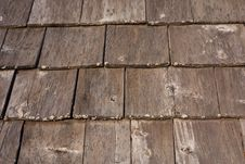 Free Shaker Cedar Shingles Royalty Free Stock Photography - 14634527