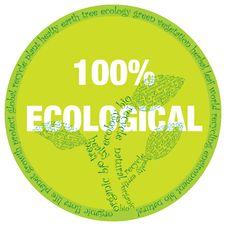 Free Ecological Symbol Royalty Free Stock Photos - 14634578
