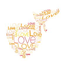 Free Heart And Love Bird Royalty Free Stock Photography - 14634587