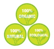 Free Organic And Ecological Symbol Royalty Free Stock Photos - 14634618