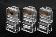 Free Connectors For Computer Networks Stock Photos - 14634883
