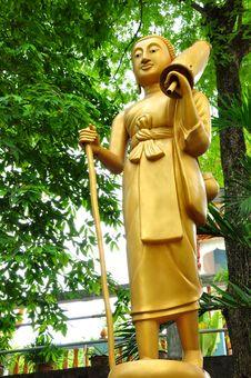 Free Pilgrim Buddha Image Stock Images - 14635134