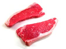 Free Two Strip Steaks Stock Images - 14635434